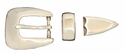 "S5354 LASRP 19MM 3/4"" Belt Buckle Set"
