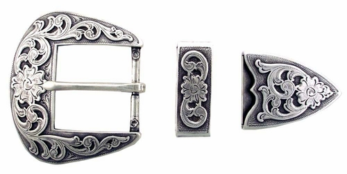 "S5359 LASRP  1 1/2"" 38MM Belt Buckle Set"