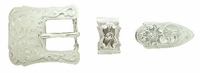 "S5401 SP 3/4"" 19MM Western Belt Buckle Set"