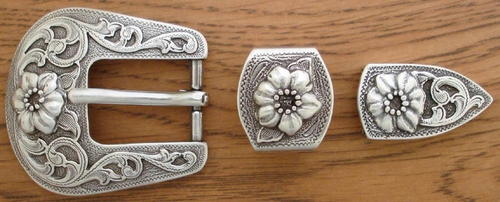 "S5445 LASRP 1"" 25MM Belt Buckle Set"