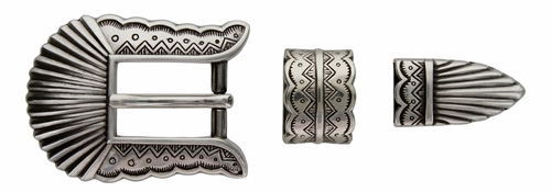 "S5518 LASRP 3/4"" 19MM Western Belt Buckle Set"