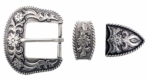 "S5521 LASRP 1 1/2"" 38MM Belt Buckle Set"