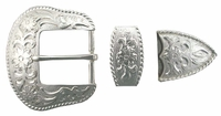 "S5521 SP  1 1/2"" 38MM Belt Buckle Set"