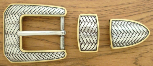 "S5579 ASAG 1"" 25MM Belt Buckle Set"
