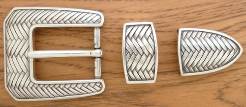 "S5579 LASRP 1"" 25MM Belt Buckle Set"