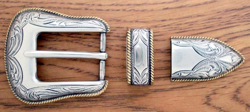 "S5699 ASAG 1"" 25MM Belt Buckle Set"