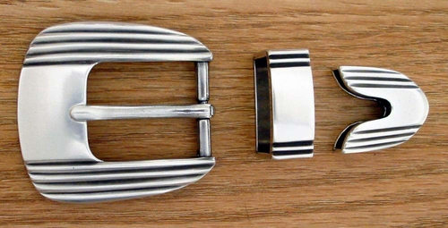 "S5749 LASRP 25MM 1"" Belt Buckle Set"