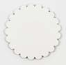 Saddle Leather Rosettes Conchos Leather Concho White 1-1/2""