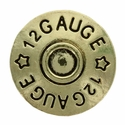 "SC1831-BRASS 12 Gauge Shotgun Shell Concho 3/4"" Screw Back"