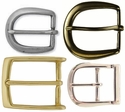 Solid Brass and Zinc Heel Bar Buckles (Click to see more Styles)