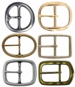 Solid Brass Center Bar Buckles (Click here to see more Styles)