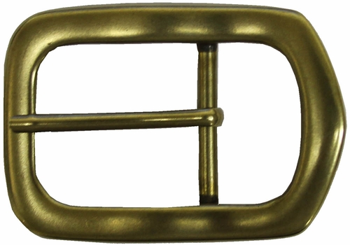 Solid Brass Polygon Buckle 1 1/2""