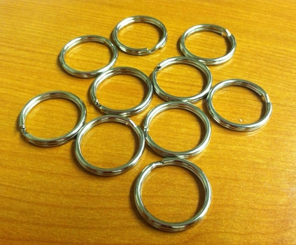 Split Rings 28mm $0.50 each