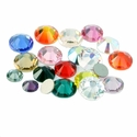 SS34 Swarovski RhinestonesAll Colors-Flat back (7.069mm-7.272mm)