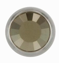 Swarovski 1781/100 11mm Silver-Plated Flatback Snap Fastener - Metallic Light Gold
