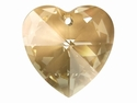 Swarovski Elements - Heart Pendants