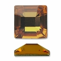 Swarovski Square Rhinestone 25mm in Topaz
