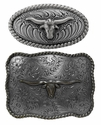Western Longhorn Buckles and Conchos