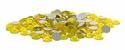 Yellow Opal  Flatback Xilion Rose SS9