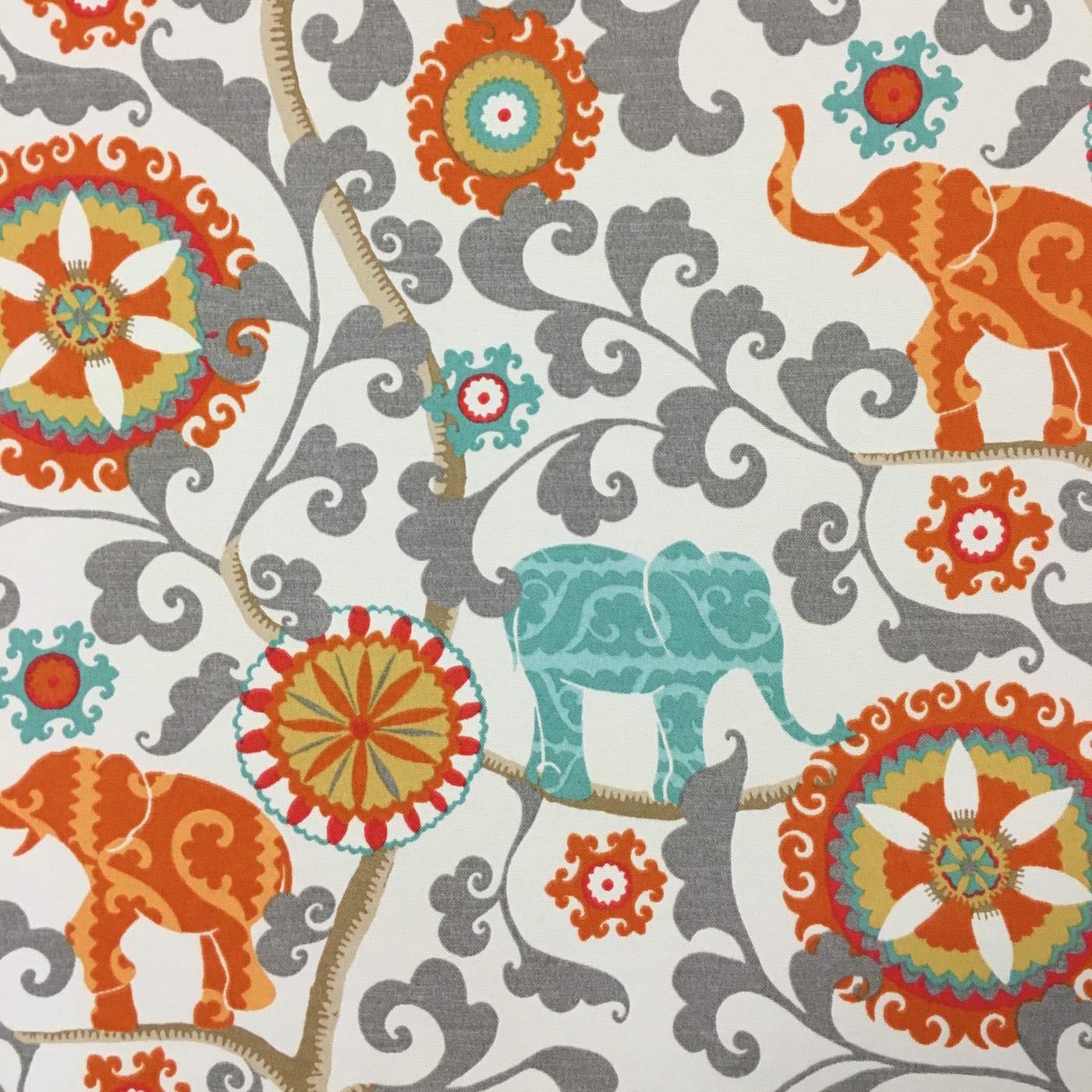 Menagerie Cayenne: Indoor/Outdoor Fabric