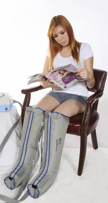 Air Sequential Compression Therapy - Complete X Large Half Leg Set