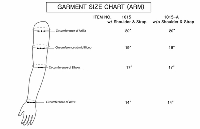 Air Compression Garment (Large Size) w/ Tubing Connector