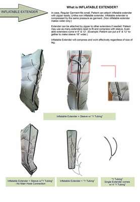 Inflatable Compression Sleeve Extender (Single)