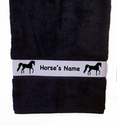 Bath Towel - Horse Breed Personalized with Name