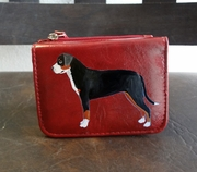 Greater Swiss Mountain Dog Hand Painted Wallet