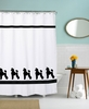 Poodle-Toy, Mini, Standard Shower Curtain