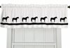 Window Valance by Horse Breed