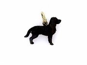 American Water Spaniel C384Y/Rhodium Color