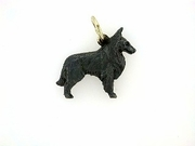 Belgian Sheepdog C307Y/Rhodium Black