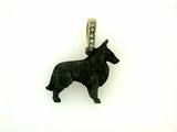 Belgian Sheepdog C307Y/Rhodium Black & 6-Dia. Bail