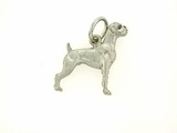 Boxer C191W Uncropped Ears/Rhodium E&N (WG)