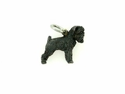 Brussels Griffon C408W Uncropped Ears/Rhodium Black (WG)