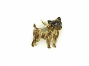 Cairn Terrier C242Y/Wings/Rhodium