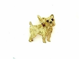 Cairn Terrier C242Y/Wings/Rhodium E&N