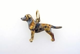 Catahoula Leopard Dog C474Y/Rhodium