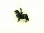 Cavalier King Charles Spaniel C141BY/Rhodium Black