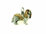 Cavalier King Charles Spaniel C141AW/Rhodium Color (WG)