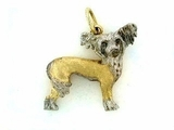Chinese Crested C094AY/Rhodium