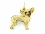 Chinese Crested C094AY/Rhodium E&N