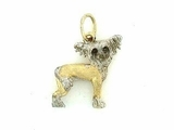 Chinese Crested C094BY/Rhodium