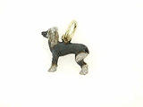 Chinese Crested C343Y/Rhodium