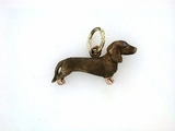 Dachshund C046R Shorthaired/Rhodium Color (RG)