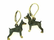 Doberman ER424Y/Rhodium LBD Earring