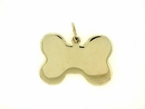 Dog Bone C323Y Tag Flat Large