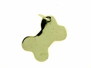 Dog Bone C459Y Tag Flat Large