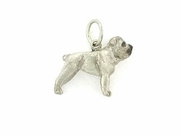 English Bulldog C076W/Rhodium E&N (WG)